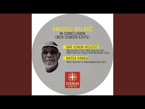 Bar Konon Mousso (Musicien C'est Pas Quelqu'un) (Ben Gomori N'est Pas Musicien Edit)