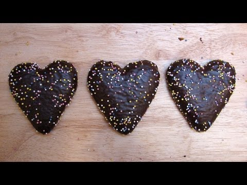 Xmas Gingerbread Hearts