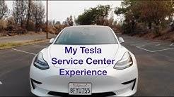 Tesla Service Center Experience