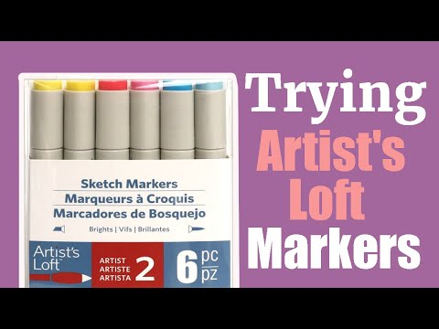 NEW ARTIST LOFT MARKERS | Alcohol based, NEW ART SUPPLIES