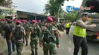 Download Video TNI Bersenjata Diturunkan untuk Kendalikan Amuk Napi di Lapas Langkat MP3 3GP MP4