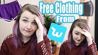 Plus-Size Girl Tries Free Clothes From Wish | Wish Haul & Try On