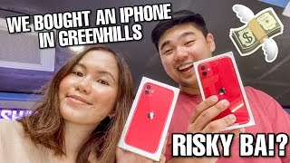 BUYING APPLE PRODUCTS IN GREENHILLS WITH MARY: GAANO KA RISKY?