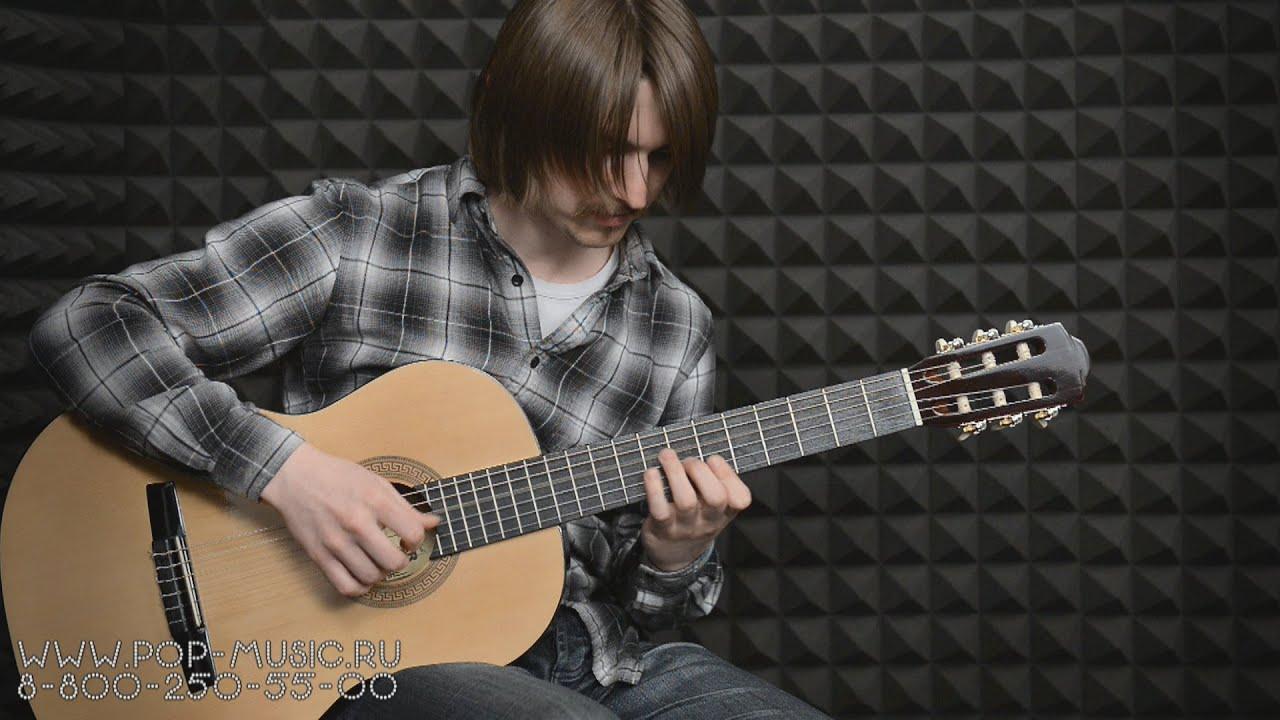 Классическая гитара Hohner HC-06 - как купить гитару - YouTube