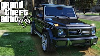 GTA 5 Car Mods - Mercedes-Benz G65 AMG (Download + R9 280X)