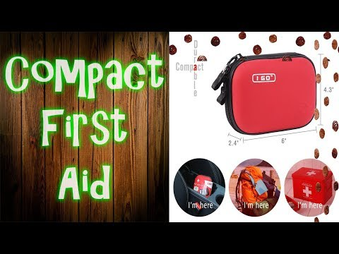Compact First Aid Kit Review - Be Smart Get Prepared Outdoor First Aid Kit Review (I Go)