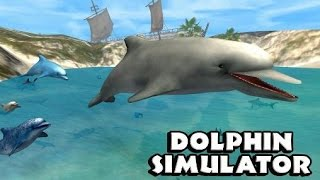 Обзор Игры Симулятор Дельфина. Скачать полную версию. Dolphin Simulator