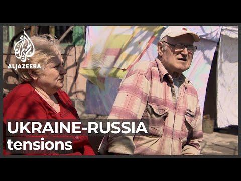 Ukraine civilians near border fear Russia tensions
