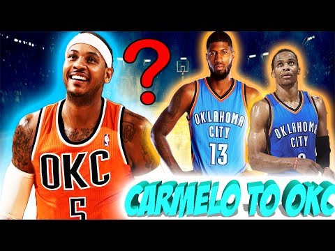 OKC Thunder are interested in TRADING for Carmelo Anthony!