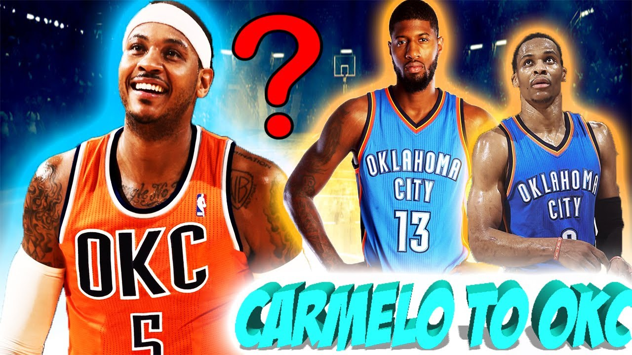 5ea3c590470 OKC Thunder are interested in TRADING for Carmelo Anthony! - YouTube