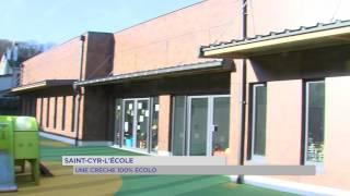 Saint-Cyr-l'Ecole : une crêche 100% écolo