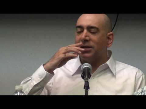 """Battle for Justice in Palestine"" Ali Abunimah, at Rutgers University"