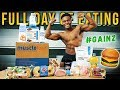 What I Eat In a Day To BUILD MUSCLE! | Full Day of Eating