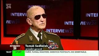 General Sedlacek   Interview CT24 11 11 2011