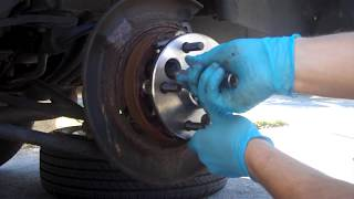 How To: Change Rear Wheel Hub Bearing Assembly on a Toyota Camry / ES300 (97 - 01)