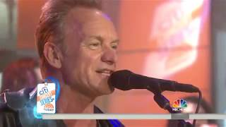 Watch Sting perform 'One Fine Day' live