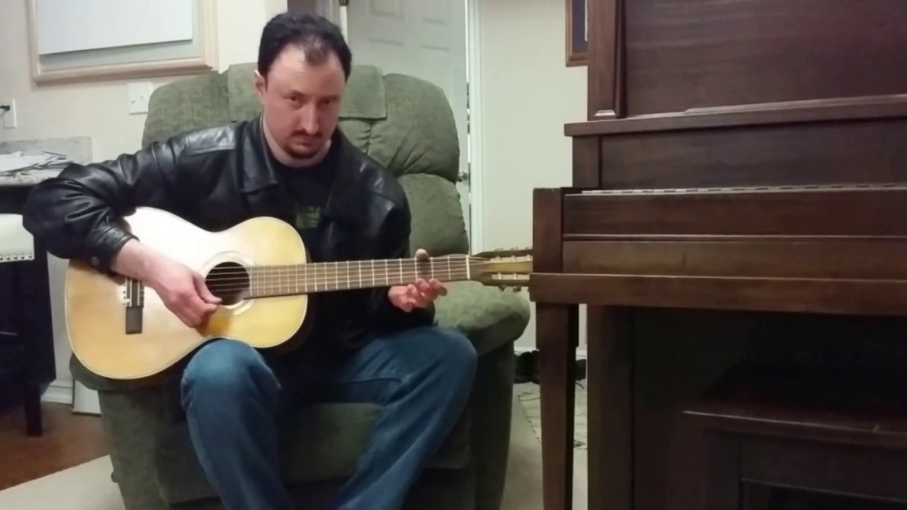 Dont Starve Together Main Theme Melody Acoustic Guitar Youtube