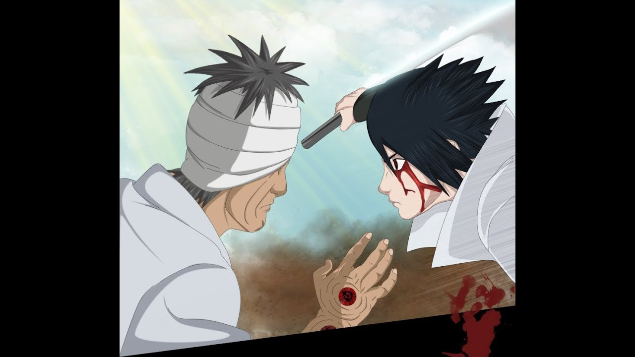 Sasuke vs  Danzo   Full Fight English