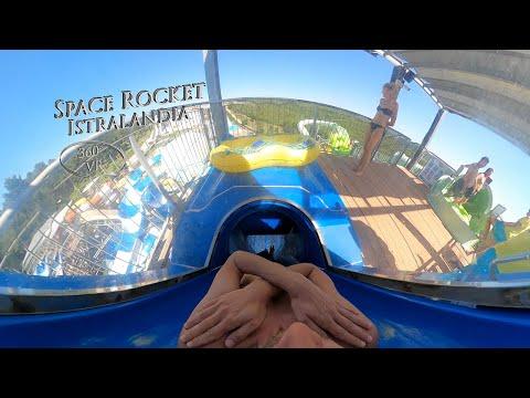 Istralandia Space Rocket 360° VR POV Onride