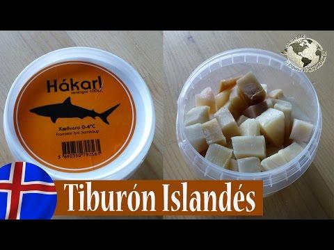 Hákarl, Tiburón Islandés - Icelandic Shark, Iceland. Islandia 2013