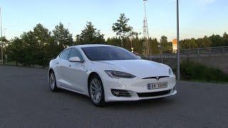 Tesla Model S 70D facelift energy consumption test