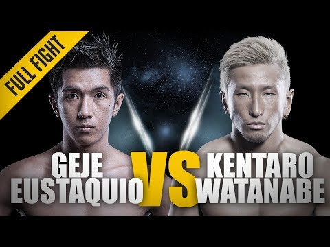 ONE: Full Fight | Geje Eustaquio vs. Kentaro Watanabe | Flyweight Face-Off | June 2014