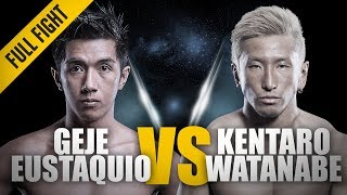 ONE: Full Fight | Geje Eustaquio vs. Kentaro Watanabe | Flyweight Face-Off | June 2014 thumbnail