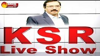 KSR Live Show || Chandrababu Naidu Davos Trip...