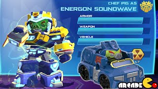 Angry Birds Transformers: Telepods Soundwave Auto Birds Gameplay Part 51