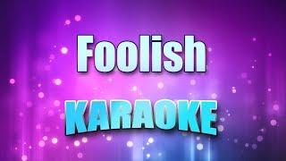 Ashanti - Foolish (Karaoke & Lyrics)