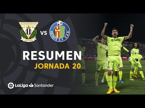 Resumen de CD Leganés vs Getafe CF (0-3)