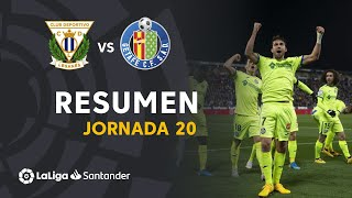 Resumen de CD Leganés vs Getafe CF (0-3)