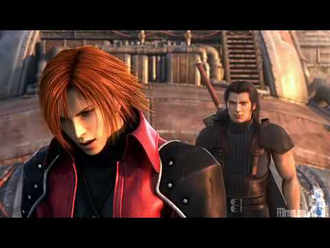 Crisis Core Sephiroth Vs Genesis And Angeal In Japanese
