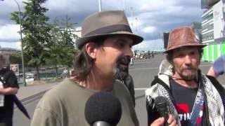 Reportage - Marche des Citoyens Debout (14 juillet 2016) - F. …