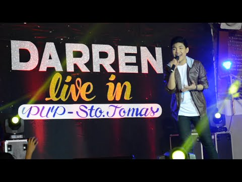 PUP Sto. Tomas - Darren - Domino / In Love Ako Sa 'Yo / Thinking Out Loud / Chandelier