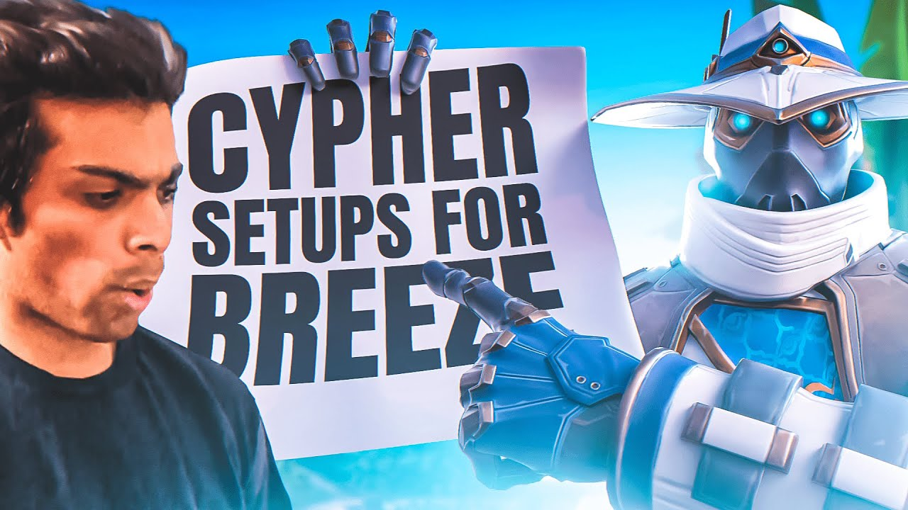 Download Cypher Setups on Breeze - One Way Smokes, Camera Spots and Tripwire Spots - Valorant