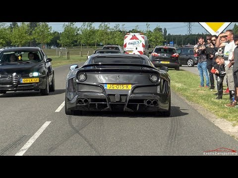 Supercars Accelerating - 2x LaFerrari, Novitec N-Largo S, P1, Carrera GT, AMG GT R,...