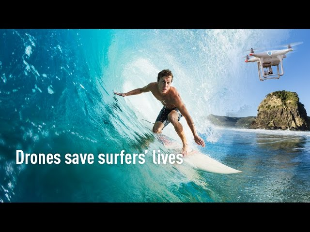 Drones save surfers' lives on New Zealand beaches – Emsisoft & Surf Life Saving NZ team up