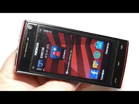 Nokia X6-00 16GB Ретро телефон из Латвии. Капсула времени. Тесты. Обзор. Проверка