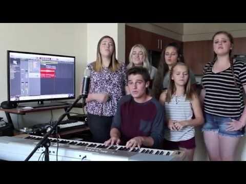 Family sings Oceans by Hillsong United