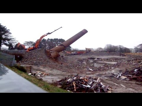 Foster Chimney Stack Demolition