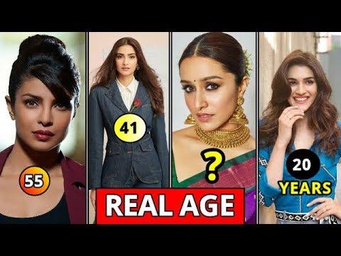 Real Age Of Top 15 Bollywood Actresses In 2020 Deepika Padukone Priyanka Chopra Katrina Kaif Age Youtube