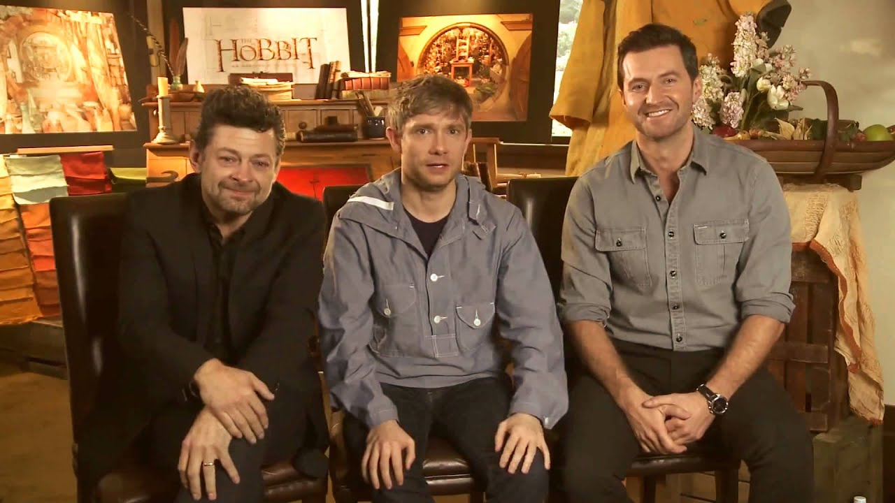 Every second is a highlight - The Hobbit cast - YouTube
