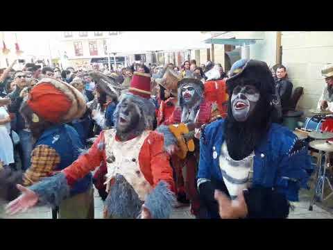 Coplas de Carnaval en las calles de Oviedo