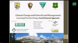 Climate Change and Land Management: Social Network Analysis