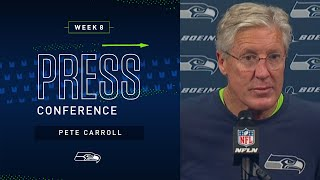 Head Coach Pete Carroll Postgame Press Conference at Falcons   2019 Seattle Seahawks