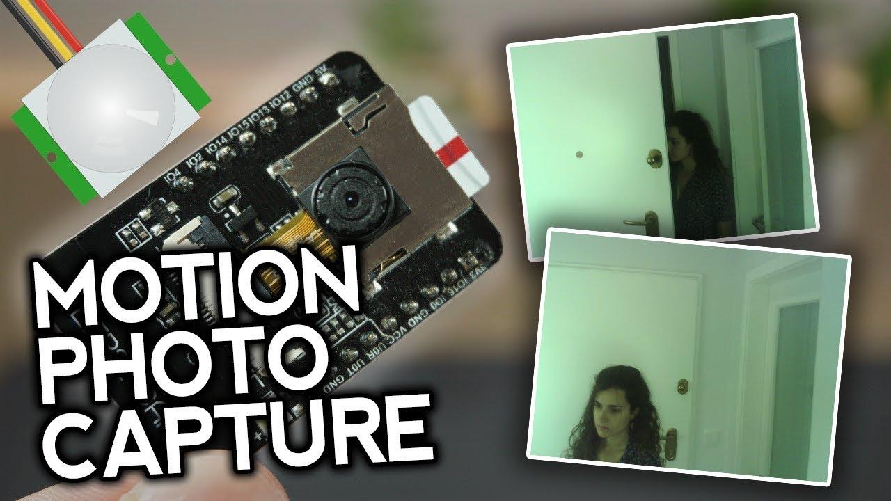 ESP32-CAM PIR Motion Detector with Photo Capture | Random Nerd Tutorials