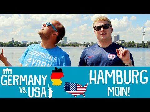 HAMBURG - Germany vs USA