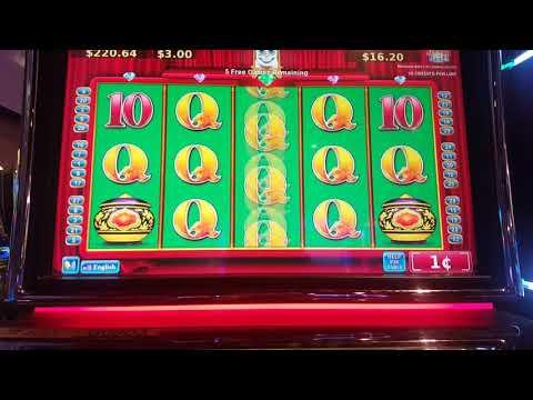 Fortunes of the orient MAX BET BONUS FREE GAMES