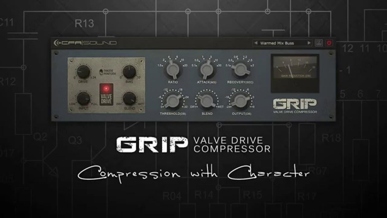 GRIP - Valve Drive Compressor | CFA-Sound